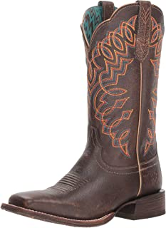 ARIAT Women's Circuit Cisco Weathered Desert Camo Cowgirl Boot Square Toe