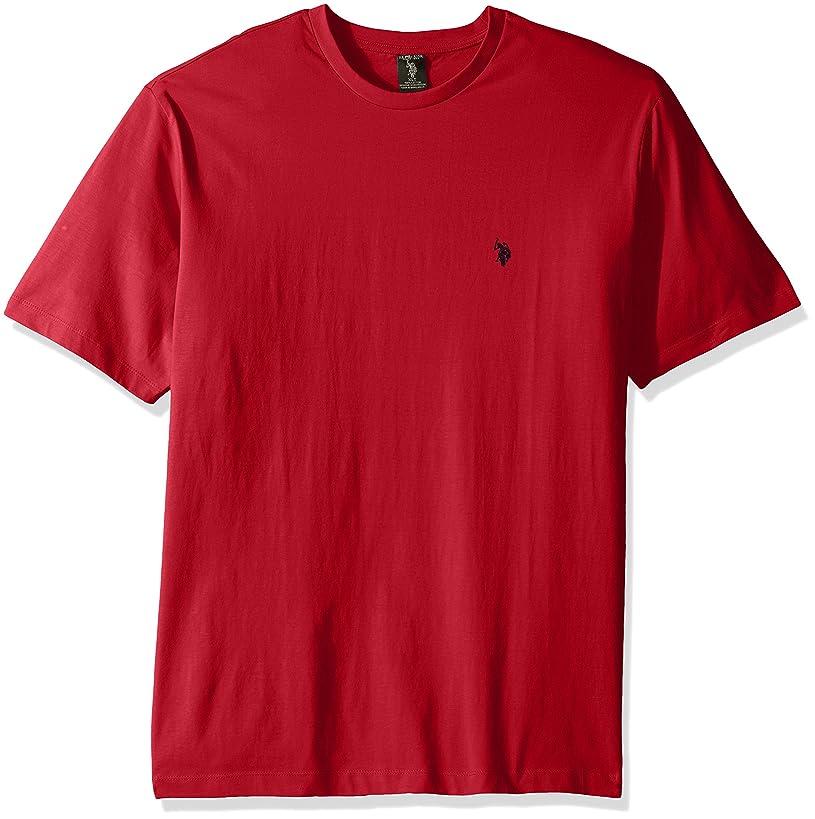 U.S. Polo Assn. Men's Big and Tall Big & Tall Crew Neck Small Pony T-Shirt