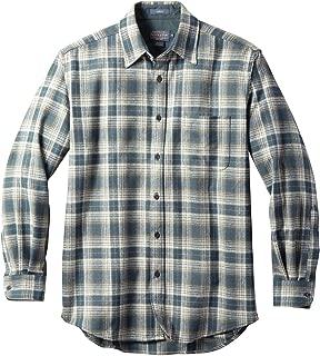Men's Long Sleeve Button Front Classic Lodge Shirt