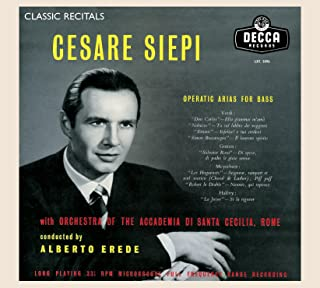 Cesare Siepi: Operatic Arias for Bass