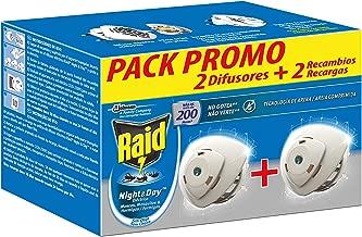 Raid - Night & Day anti mosquitos y hormigas eléctrico