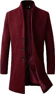 Best mens red overcoat Reviews