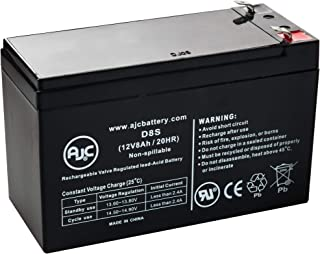para Systems-Minuteman EnSpire EN750 12V 8Ah UPS Battery - This is an AJC Brand Replacement