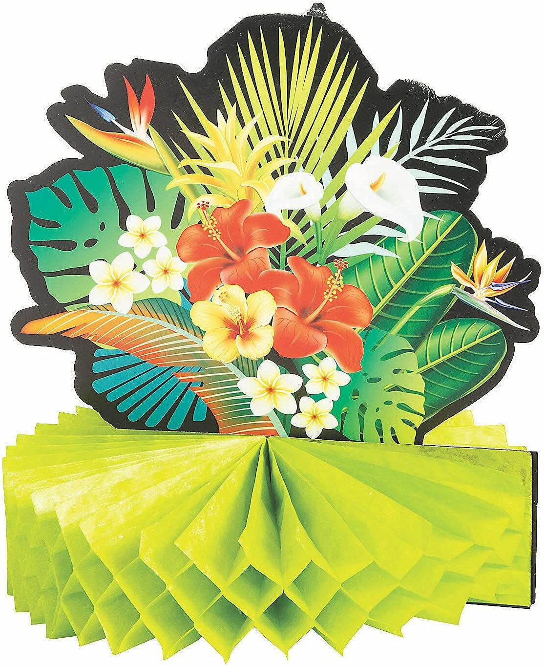 Tropical Nights Party Selling Centerpieces - 3 Factory outlet Desk Pieces Decor