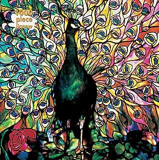 Adult Jigsaw Louis Comfort Tiffany: Displaying Peacock: 1000 piece jigsaw (1000-piece jigsaws)