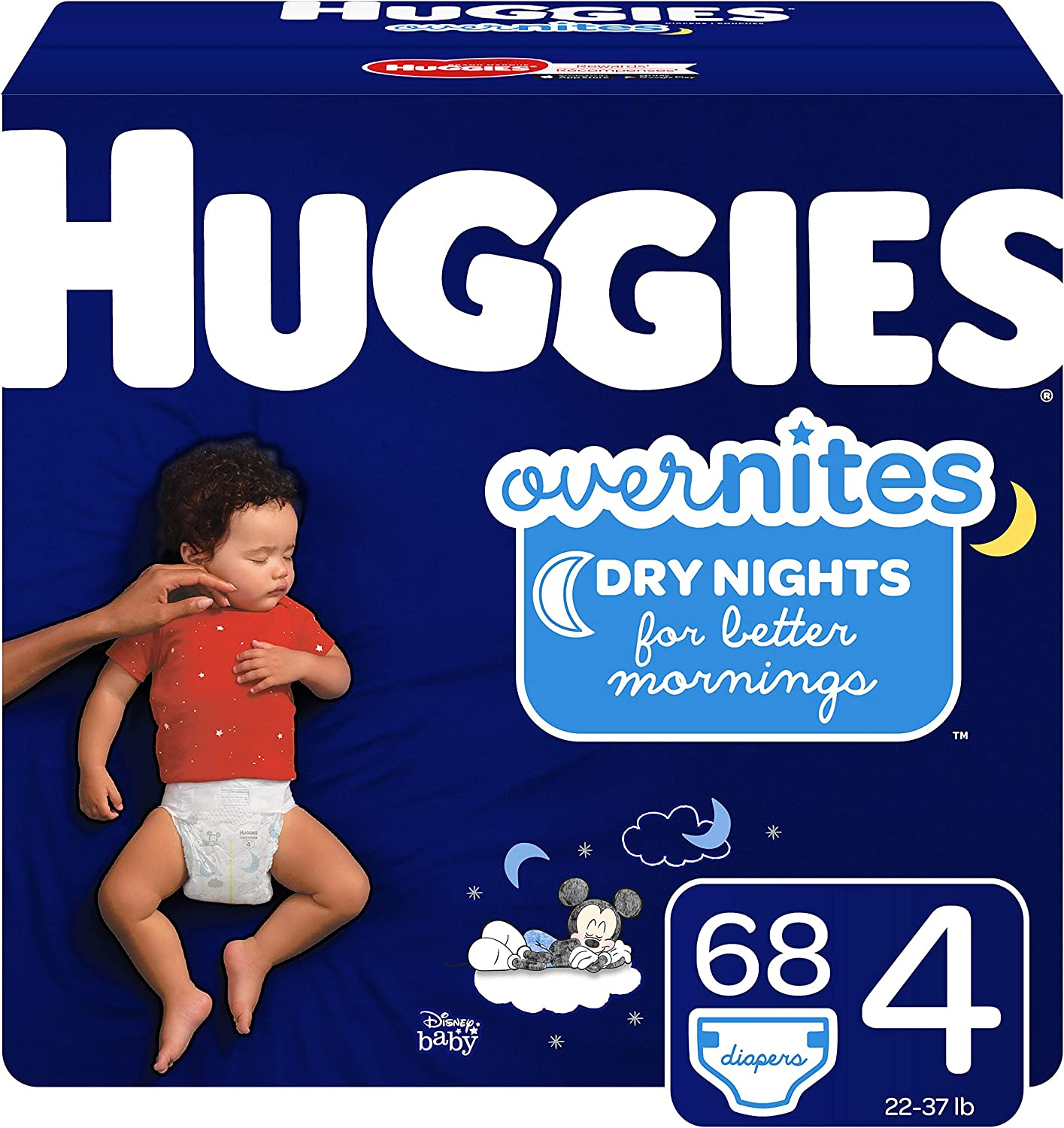 Max 84% OFF Huggies Overnites Nighttime Sale Diapers Size Ct 68 4