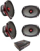 $179 » 2 Pair of American Bass 6x9 800 Watt 4 Ohm Midrange Speaker Godfather 6.9