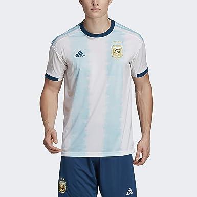 Amazon.com : adidas Men's Soccer Argentina Home Jersey : Sports ...