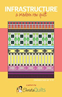 Christa Quilts CQI125 Infrastructure Quilt Pattern