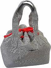 刺し子 トートバッグ 巾着タイプ 約32×33×20cm sk-009