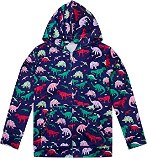 Little Girls 3D Print Pullover Hoodies with Pocket Hooded Sweatshirt Size 4-14