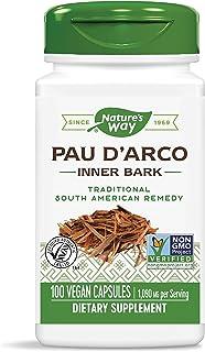 Sponsored Ad - Nature's Way Premium Herbal Pau d'Arco Inner Bark, 1,090 mg per serving, 100 Capsules