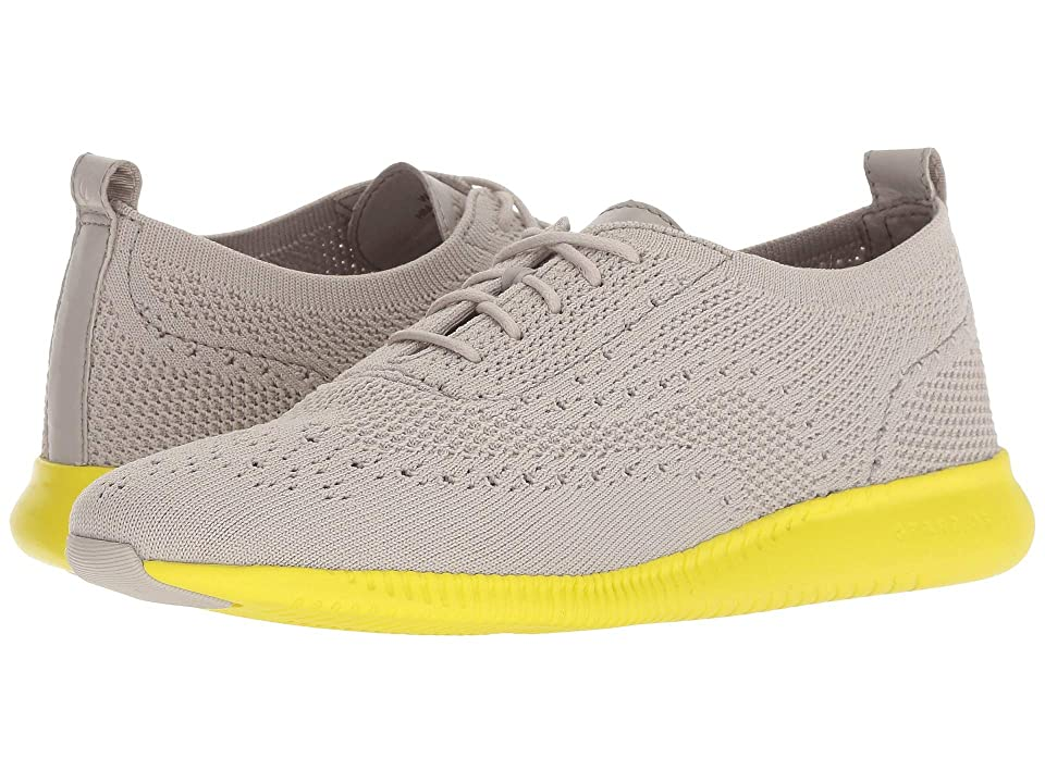 Cole Haan 2.Zerogrand Stitchlite Oxford (Dove Knit/Sulpher Sruce) Women