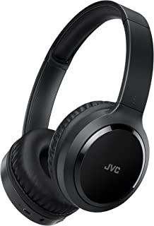 JVC Around Ear Noise Canceling Wireless Folding Headphone Black (HAS80BN)