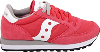 Saucony Women's 2044311 Red Leather Sneakers