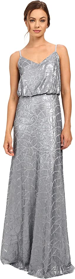Donna Morgan - Blouson Sequin Gown