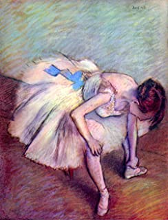 Le Musée–Sortie Coudée par Degas Danseuse–Toile (61x 45,7cm)