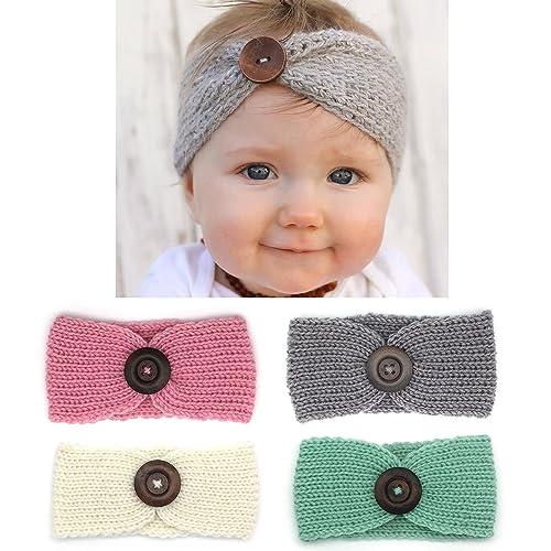 b0d7183f9 Crochet Baby Headbands  Amazon.com