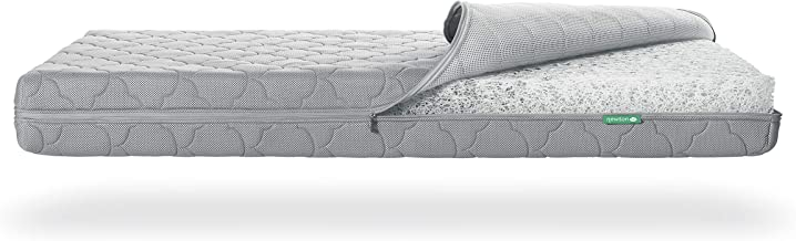 Newton Baby Crib Mattress Spare Cover   100% Breathable Proven to Reduce Suffocation Risk, Safe, Machine Washable, Non-Toxic, Rest Easy - Moonlight Grey