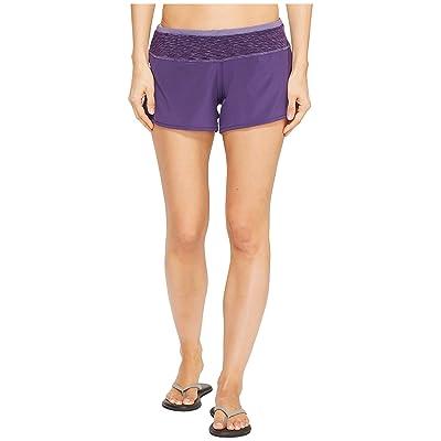 Smartwool PhD Pattern Shorts (Mountain Purple) Women