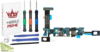 MobilePrime Charging Port Replacement Kit Compatible for Samsung Galaxy Note 5 (N920V) Including Pro-Series Repair Tools