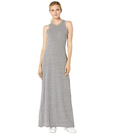 Alternative Eco-Jersey Side Slit Maxi Tank Dress (Eco Grey) Women