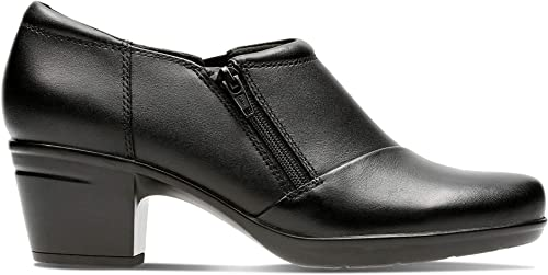 CLARKS CLARKS CLARKS femmes chaussures Emslie Claudia noir 5.5 D 0ec