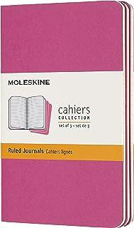 Moleskine - Cahier Journal Cuaderno de Notas, Set de 3 Cuadernos con Páginas, Tapa de Cartón y ...