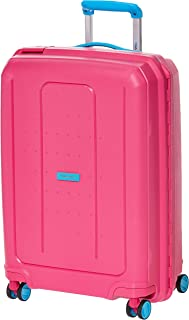 Track Unisex Adults' Accord Frame Trolley Suitcase, Pink - 65 cm