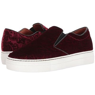 Etro Velvet Slip-On Sneaker (Redd) Women