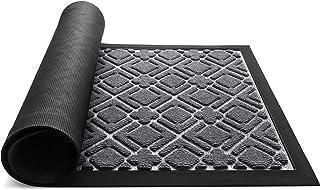 KMAT Door Mat Inside Outside,Anti-Slip Durable Rubber Doormat Indoor Outdoor Front Door Mat Rugs for Entryway,Patio,Lawn,G...