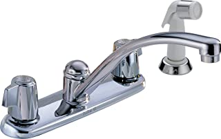 DELTA GIDDS-2013028LF Kitchen Faucet Blade Handles Lead Free Chrome