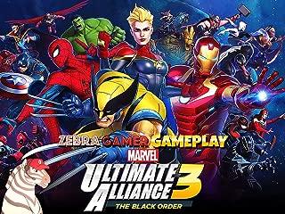 Clip: Marvel Ultimate Alliance 3: The Black Order Gameplay - Zebra Gamer