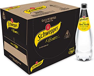 Schweppes Tonic Water, 12 x 1.1L