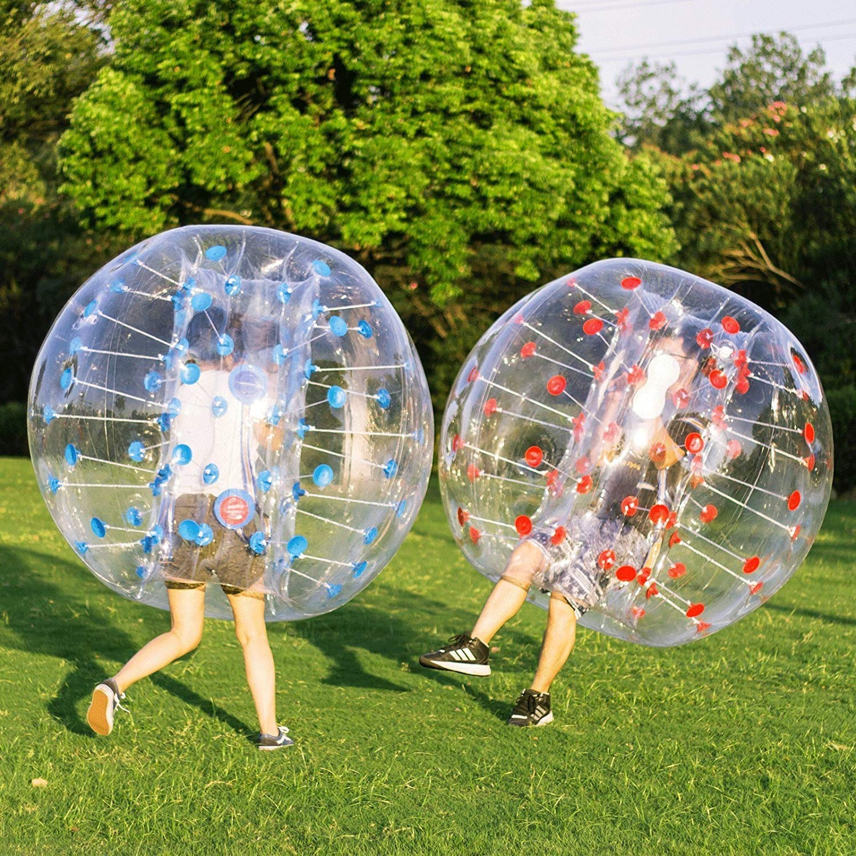 MEDIA WAVE store Pelota Inflable Gigante FUBUCA Bubble Football ...