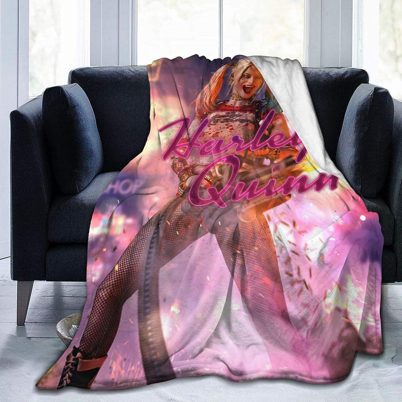 CNAOWHG Harley Fashion Q-uinn Fleece 特価 Blanket Flannel 人気 おすすめ Ultra-Soft