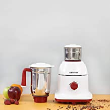 Krypton KNB5311 550W Powerful Mixer Grinder, 2 in 1 with 2 Jars | Powerful Copper Motor | with Double Oil Seal| Heavy Duty