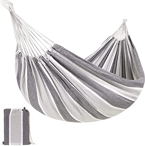 Best Choice Brazilian-Style Cotton Double Hammock Bed - Best Hammock For Bed Replacement