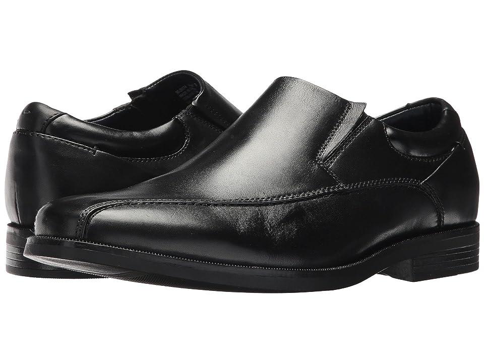 Dockers Franchise 2.0 Bike Toe Loafer (Black Polished Full Grain) Men