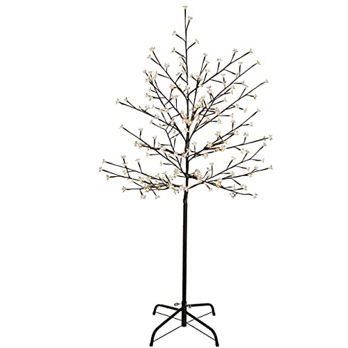 WeRChristmas 5 ft/1.5 m Pre-Lit Illuminated Cherry Blossom Tree with 200- - Twig Christmas Trees: Amazon.co.uk