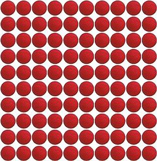 EKIND 100 Rounds Bulk Refill Ammo Bullet Balls Compatible for Nerf Rival, Apollo, ZECA, Khaos, & Atlas Blasters Red Team E...