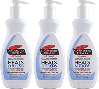 Palmers Cocoa Butter Lotion 13.5 Ounce Pump (399ml) (3 Pack)