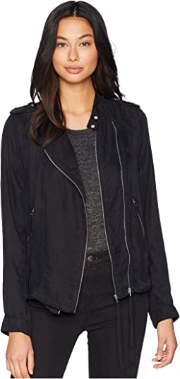 Jacket with Zipper Detail in Lunch Break