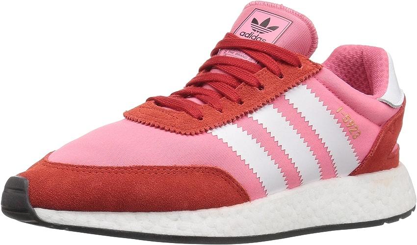 Adidas Originals Wohommes I-5923 Running chaussures, Chalk rose blanc rouge, 9.5 M US