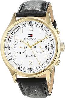 Tommy Hilfiger Men 1791386 Year-Round Analog Quartz Black Watch