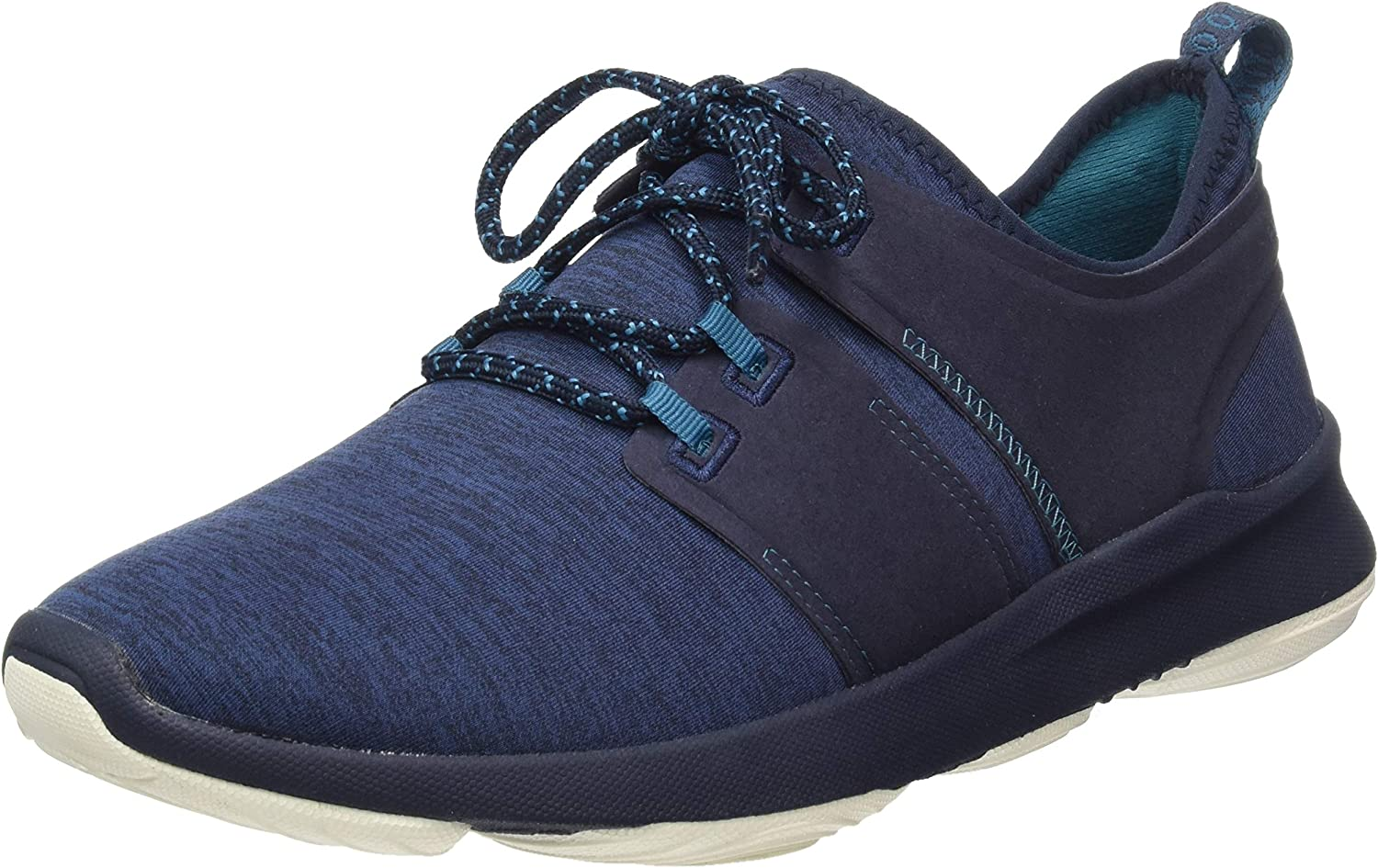 Hush Puppies Mens Geo BounceMax Lace Up Trainer Navy Size UK 7 EU 41