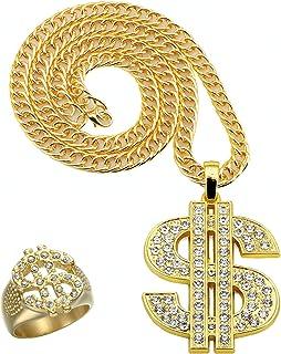 Gold Boland 64407 Ring Triple Dollar