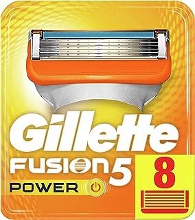 Gillette Fusion ProGlide Power–Recambios para cuchillas de afeitar, 8cuchillas