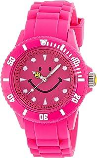 [スマイリー]SMILEY 腕時計 シリコン ピンク WC-HBSIL-PK 【正規輸入品】
