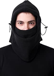 Oss-Fuel Face Mask Fleece Thick Full Cover Riding Bike Dust Wind Sun Protection Balaclava
